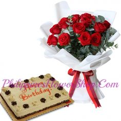 Let your loved ones enjoy and cherish this special day with some extra special gifts from Philippinesflowershop.com . #flower #flowerbouquet #cake #birthdaycake #birthdayflower #birthdaygift #anniversarygift #anniversarycake
