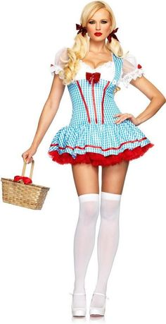 ⭐Womens Ladies Hold Up Thigh High Stockings With Bow Fancy Party Costume Dress