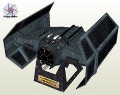 Tektonten Papercraft: Spacecraft