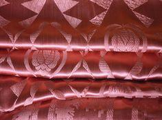 Satin Bedspread Art Deco Extra Long 88w. x