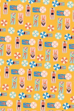 Summer prints - Naomi Wilkinson Illustration