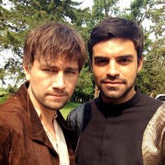 Torrance Coombs and Sean Teale on Reign