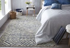 Under The Canopy Mohawk Studio Mnemba Beige/Blue Area Rug x - x (Beige/Denim - Taupe/Blue), Brown, Mohawk Home Boho Dorm Room, Japanese Interior, Japanese Design, Japanese Art, Mohawk Home, Canopy Design, Room Rugs, Online Home Decor Stores, Beige Area Rugs