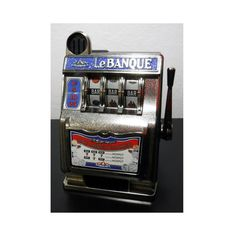 Slot Machine Bank Blue Carousel LE BANQUE One by AthenasPlayhouse