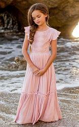 35849abe164f2 Joyfolie Viola Dress - Lilac * Preorder* Tiered Skirts, Crochet Trim, Viola,