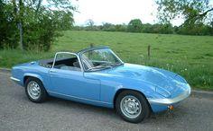 Lotus Elan French Blue 1970