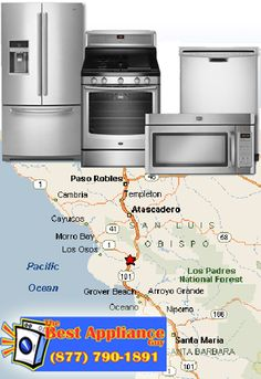 Appliance repairs in Sna Luis Obispo County