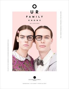 Georgetown Optician's Eyewear-Crazed Family Is Back in Another Gorgeously Designed Ad