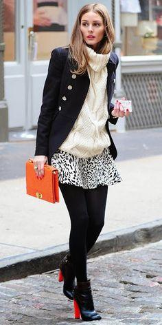 Fashion Icon: Olivia Palermo Street Style New York  More images on the blog etralalondon.blogspot.com