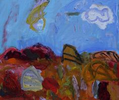 Clouds in the desert by Sally Stokes
