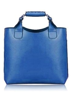 Favolose Borse colorate estate 2015 Vintage Fashion Solid Color Handbag