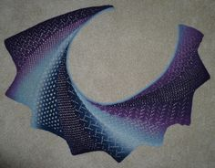 Ravelry: vicwasabi's Blue Lace Wingspan