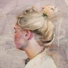 "Saatchi Online Artist Lou ROS; Painting, ""TR ( SOLD )"" #art"