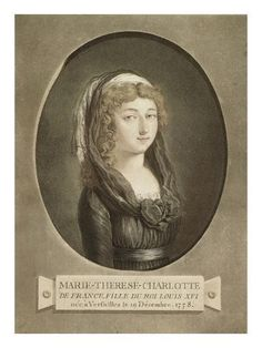 """Marie-Thérèse Charlotte de France, called """"Madame Royale"""", was the first child of Louis XVI and Marie-Antoinette Louis Xvi, Versailles, French Royalty, Canvas Wall Art, Canvas Prints, European History, European Style, People Of Interest, My Heritage"""