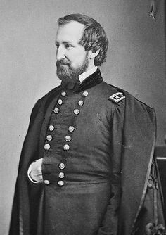 "Major General William S. Rosecrans, ""Old Rosey"" Commander of the Army of the Cumberland."