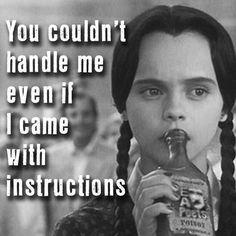 Wednesday Addams...