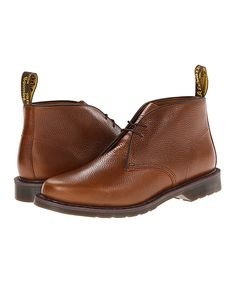 Look at this Dr. Martens Tan Sawyer Leather Pull-Up Chukka Boot on #zulily today!