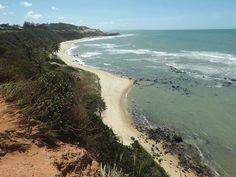 Mais uma dica de lugar a ser visitado no Brasil.  O que acham?  Imagem da Praia do Amor, em Pipa (RN), feita por Mádja Moura