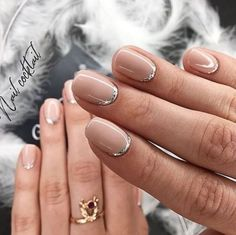 False nails have the advantage of offering a manicure worthy of the most advanced backstage and to hold longer than a simple nail polish. The problem is how to remove them without damaging your nails. Cute Nails, Pretty Nails, Hair And Nails, My Nails, Clear Nail Polish, Nagel Gel, Short Nails, Nail Inspo, Spring Nails
