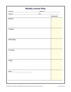 substitute lesson plan template elementary koni polycode co