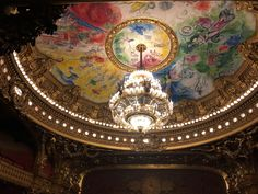 Marc Chagall: Palais Garnier, Paris Women In France, Paris Opera Ballet, Late Middle Ages, Feeling Excited, Beautiful Park, South Of France, London Travel, My Favorite Part, Islamic Art