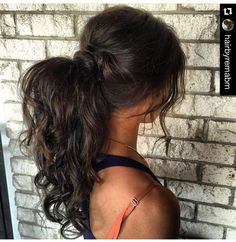 Signature textured ponytail by Natalie Anne Hair
