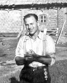 Viktors Arājs (13 January 1910 – 13 January 1988) was a Latvian collaborator and Nazi SS officer, who took part in the Holocaust during the German occupation of Latvia and Belarus (then called White Russia or White Ruthenia) as the leader of the Arājs Kommando. The Arajs Kommando murdered about half of Latvia's Jews.