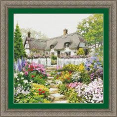 click here to view larger image of English Cottage (chart)