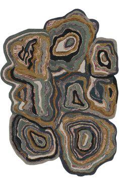$5 Off when you share! Surya Gypsy GYP201 Khaki Green Rug | Contemporary Rugs #RugsUSA