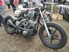 Shovelhead via taku420   Bobber Inspiration - Bobbers and Custom Motorcycles   taku420 December 2014