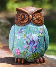 Garden Stories Owl Statuary
