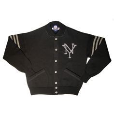 e2e465d11 New York Black Yankees Sweater Jacket from Ebbets Field Flannels Vintage  Models