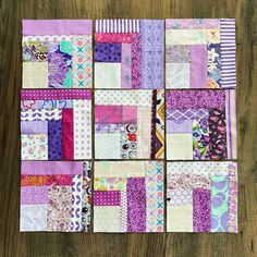 More Purple - Samelia's Mum 9 Block, Rainbow Blocks, My Sewing Room, School Holidays, Fairy Tales, Scrap, Colours, Embroidery, Quilts