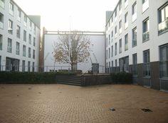 nieuwbouw Mariaplaats binnentuin