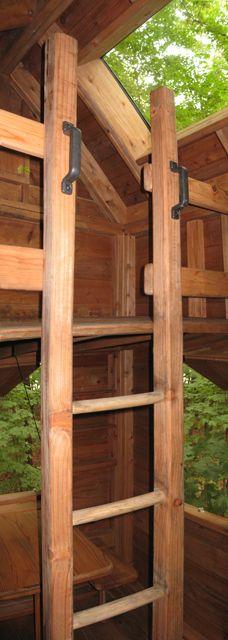 Treehouse Ladder Kid Ideas Pinterest Treehouse Tree Houses