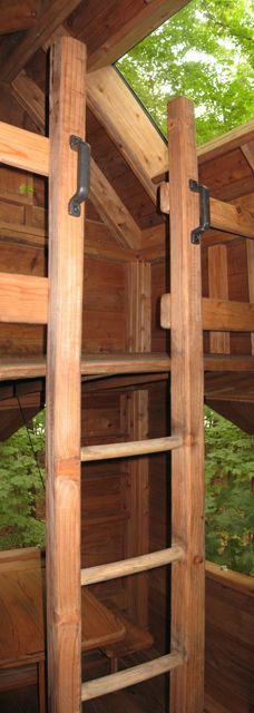 Good treehouse loft idea