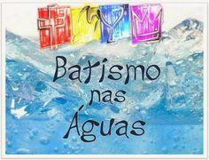A minha esperança é Jesus!: 30 de Março 2014-Batismo IEQ-Porecatu-Paraná