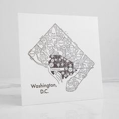 D.C. Letterpress Print