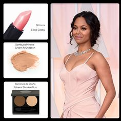 This year's Red Carpet looks at the Oscars were dominated by neutral colors. Zoe Saldana looked astonishing on this year's Ceremony! Get her look with Mia Mariu's Mineral Makeup! ‪#‎Oscars‬ ‪#‎Oscars2015‬ ‪#‎Makeup‬ Gitana Lipstick: http://ow.ly/JBdZu  Mineral Cream Foundation: http://ow.ly/JBe3C  Mineral Shadow Duo: http://ow.ly/JBe6O