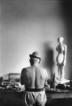 Pablo Picasso by David Douglas Duncan, 1950