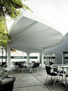 Leaf-Structured Canopy / SAM Architekten und Partner