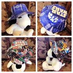 Sweet Star Wars hat I made for a little boy that's on the way!