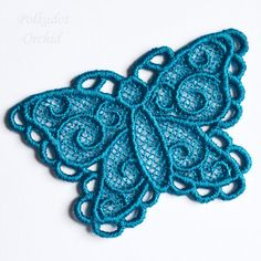 """Lace Butterfly Appliques - 5.3"""" or 2.75"""" - product images  of"""