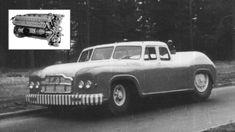 MAZ-541 byl monstrózní sovětský sedan. Měl diesel 38,8 V12, z tanku
