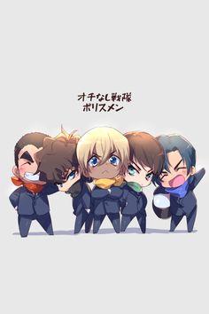 Bourbon, Super Manga, Police Story, Gosho Aoyama, Detective Conan Wallpapers, Kaito Kid, Detektif Conan, Kudo Shinichi, Teaching Biology