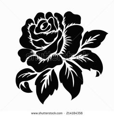 flower stencil stock photos royalty free images vectors - 28 images - stencils stock vectors royalty free stencils, floral stencil for tile stock vector 516014294 istock, flower stencil silhouette stock vector stencil stock images royalty free im One Stroke Painting, Stencil Painting, Stencil Designs, Paint Designs, Rose Stencil, Korean Painting, Silhouette Clip Art, Free Stencils, Floral Drawing