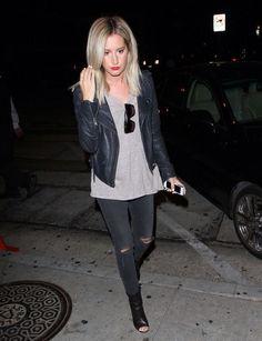 Ashley Tisdale short hair