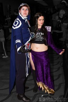 #JaceBeleren and #Iliana from #MagicTheGathering #MTG #Cosplay from #SteelCityCon #ComicCon ----- Check out more of my photography @ http://www.facebook.com/MidnightSkyPhotography (Link in Profile) ----- #MidnightSkyPhotography #MidSkyPhoto