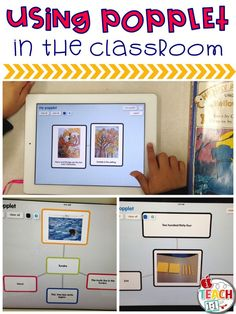 Ideas for using the free app Popplet in the classroom.Ideas for using the free app Popplet in the classroom. Teaching Technology, Technology Integration, Educational Technology, Technology Lessons, Technology Tools, Flipped Classroom, Future Classroom, Classroom App, Classroom Ideas