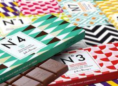 Jeff de Bruges – Vente en ligne de chocolats et de dragées : N°7 Praliné amandes noisettes Noir 70%<br>80 g